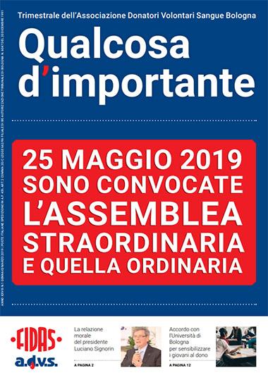 FIDAS giornale - Qualcosa d'importante n1 2019