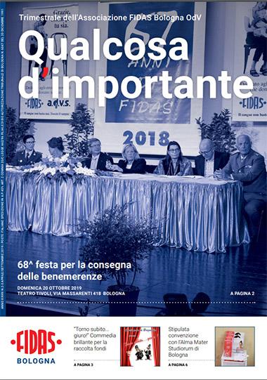 FIDAS giornale - Qualcosa d'importante n2 e 3 2019